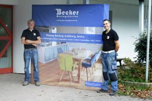 Geschäftsführer Samuel Becker (rechts) und Bernhard Kemper (links)