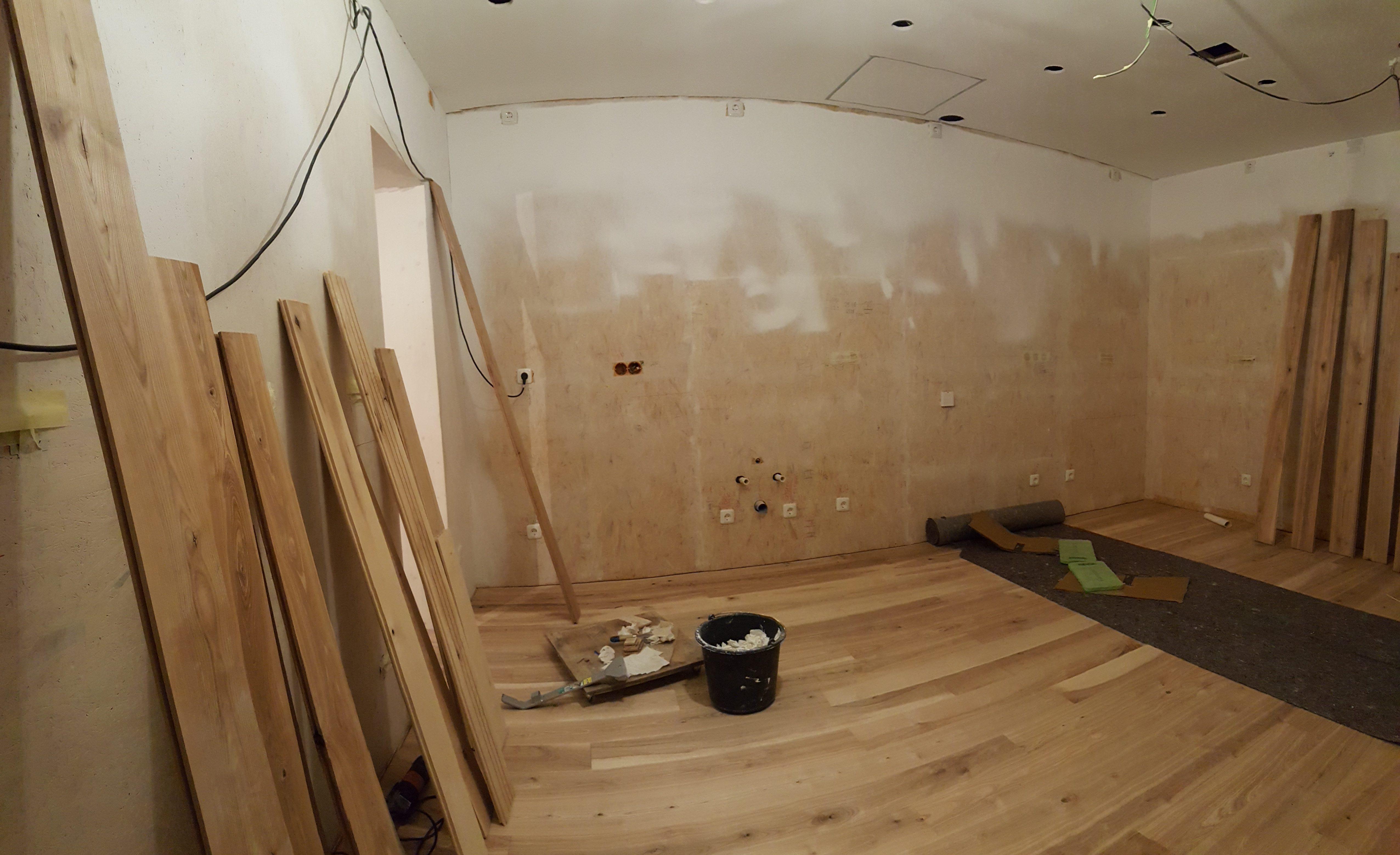dielenfu boden einbauen becker montageservice. Black Bedroom Furniture Sets. Home Design Ideas